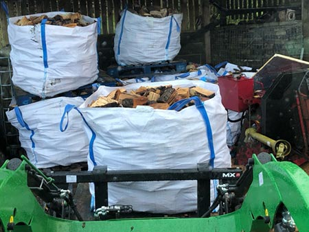 Bulk Bag Logs West Yorkshire